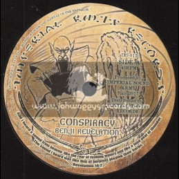 """Imperial Roots Records-7""""-Conspiracy / Benji Revelation"""