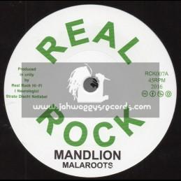"Real Rock-7""-Mandlion / Malaroots + Dub / I Neurologici"