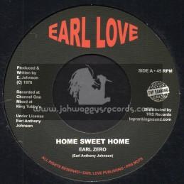 "Earl Love-Top Ranking Sound-7""-Home Sweet Home / Earl Zero"