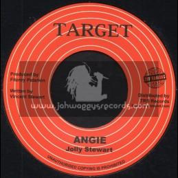"Target-Top Ranking Sound-7""-Angie / Jolly Stewart"