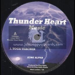 "Thunder Heart Music-7""-Yoga Teacher / King Alpha"