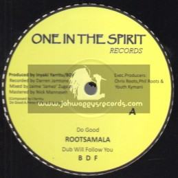"""One In The Spirit Records-12""""-Do Good / Rootsamala"""