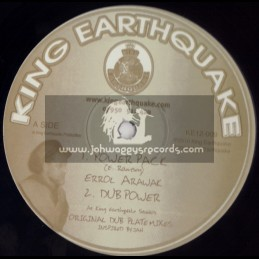 "KING EARTHQUAKE-12""-POWER PACK + SPECTRUM (HEAVYWEIGHT DUB)"