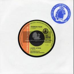 "Black Butcher-7""-Skinhead Train / Laurel Aitken + Kent People / The Gruvy Beats"