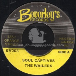 "Beverleys Records-7""-Soul Captives / The Wailers"