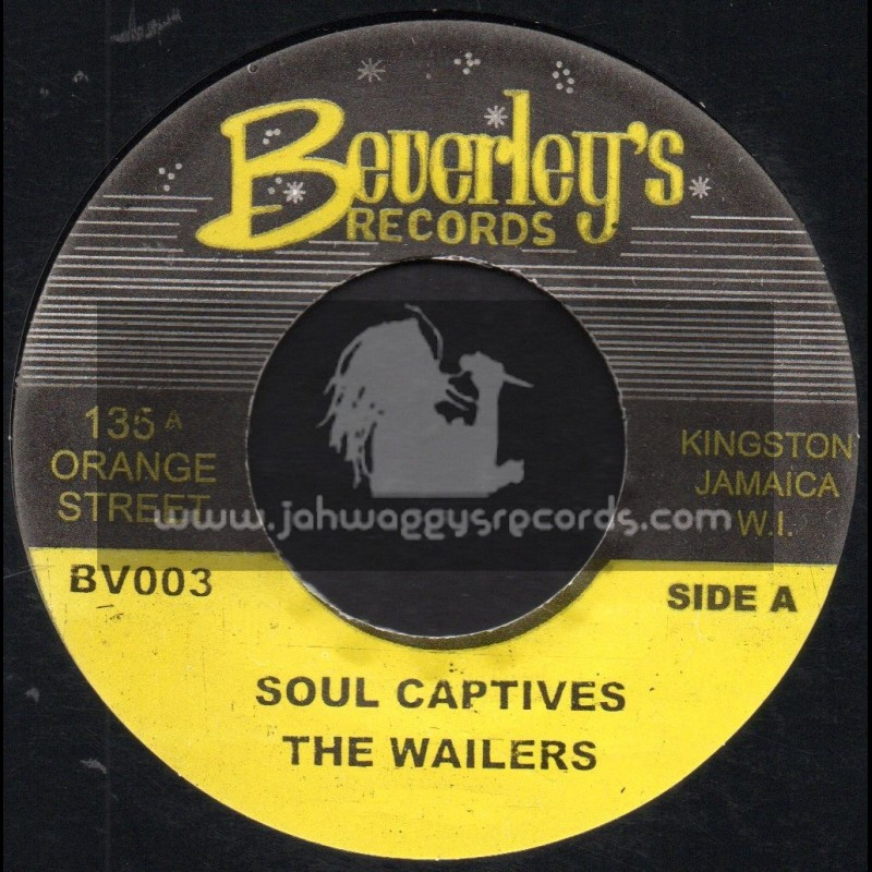 """Beverleys Records-7""""-Soul Captives / The Wailers"""