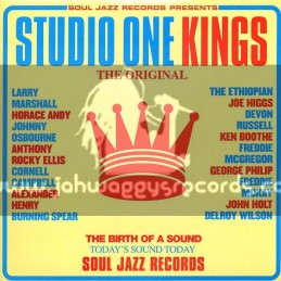 Soul Jazz Records-Double Lp-The Original Studio One Kings / Various Artist