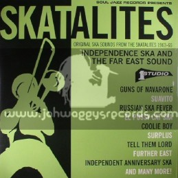 Soul Jazz Records-Double Lp-Original Ska Sounds From The Skatalites 1963-65 - Independence Ska And The Far East Sound
