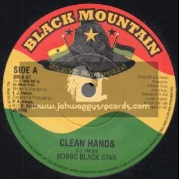 "Black Mountain-7""-Clean Hands / Bobbo Black Star"