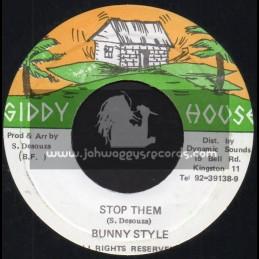 "Giddy House-7""-Stop Them / Bunny Style"