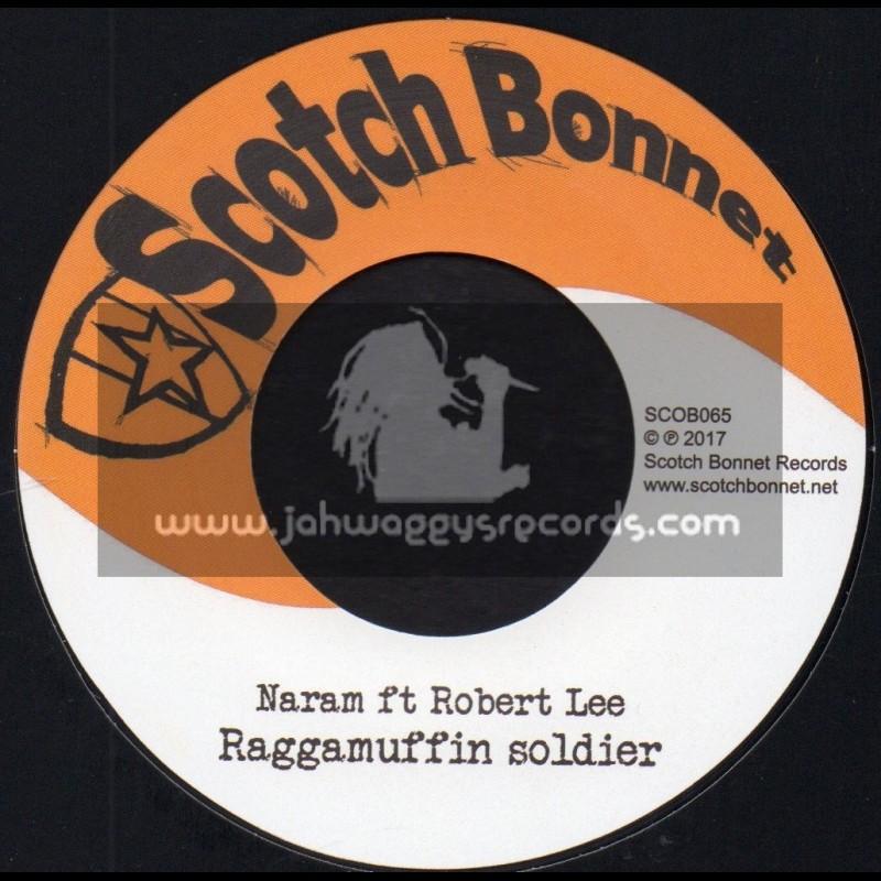 """Scotch Bonnet-7""""-Raggamuffin Soldier / Naram ft Robert Lee"""