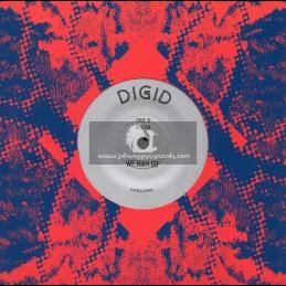 """ZamZam-7""""-We Nah Go / Digid + Digital Time / Digid"""