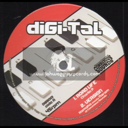 "Digi-Tal-10""-Road Life / Charlie P + Crazy Baldhead / Donovan Kingjay"