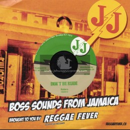 "JJ Records-7""-Dont Be Rude / Rulers + JJ Special / Carib Beats"