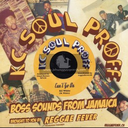 """Kc Soul Proff-7""""-Cant Go On / KC White + Version / Bullwackies All Stars"""