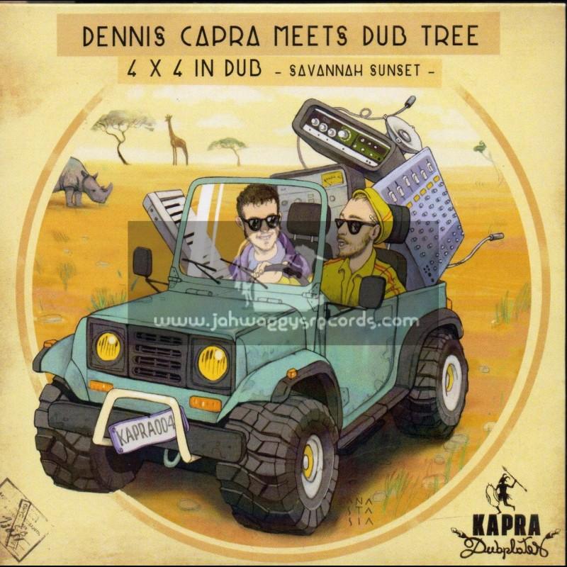 Kapra Dubplates-CD-4 x 4 In Dub / Dennis Capra Meets Dub Tree