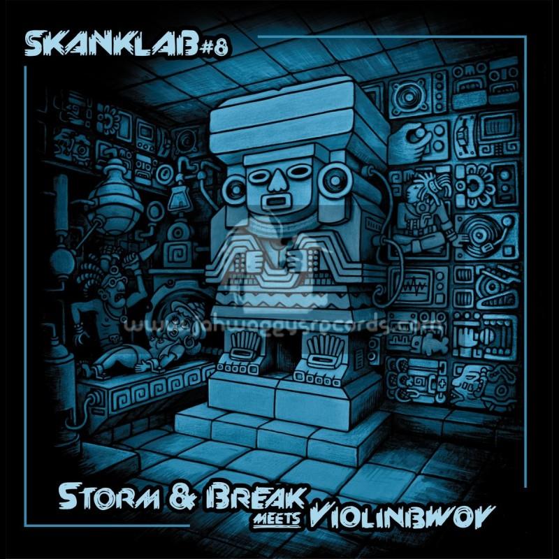"""Skank Lab 8-12""""-Violinbwoy Meets Storm & Break"""