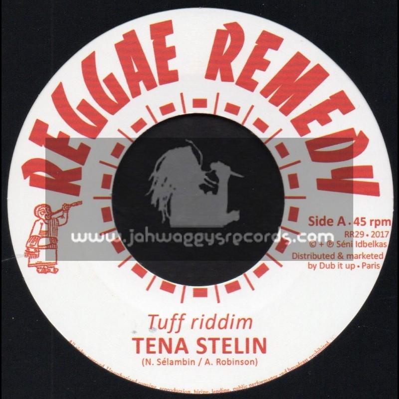 """Reggae Remedy-12""""-Tuff Riddim / Tena Stelin + Dub / Reggae Remedy Riddim Section"""