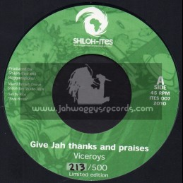 """Shiloh Ites-7""""-Give Thanks And Praise / The Viceroys"""