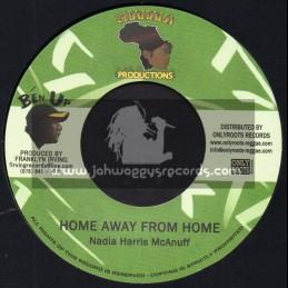 "Shamala Records-7""-Home Away From Home / Nadia Harris McAnuff + Stone Rock Dub / Earl Jr. Mix"