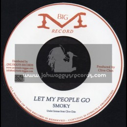 "Big M Records-7""-Let My People Go / Smoky"