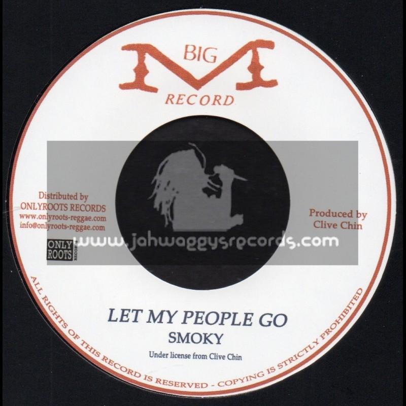 "Big M Records-7""-Let My People Go / Smoky"