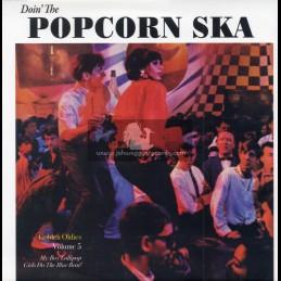 "Discotheque Records-7""-Doin The Popcorn Ska - Golden Oldies Volume 5"