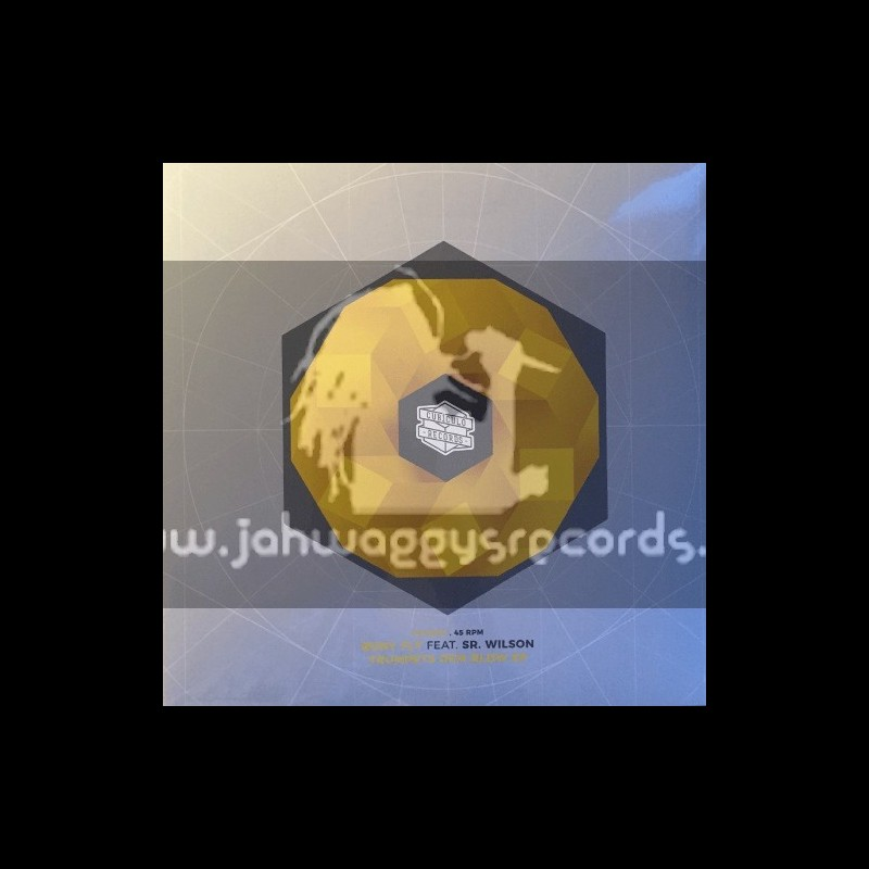 """Cubiculo Records-12""""-Trumpets Dem Blow Ep / Bony Fly Feat. Sr Wilson"""