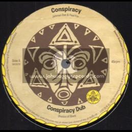 "Sound Business-12""-Conspiracy / Jonah Dan And Paul Fox + Congo / G Riddim , Jonah Dan And Paul Fox"
