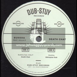 "Dub Stuy Records-12""-Death Chat / Bukkha Feat. Killa P + Ethiopian Dub / Bukkha"