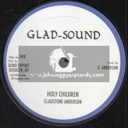 "Glad Sound-10""-Holy Mount Zion / Gladstone Anderson + Holy Children / Gladstone Anderson"