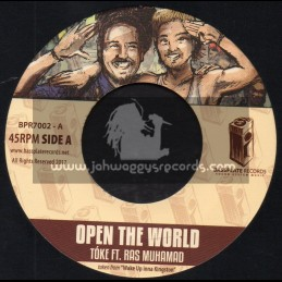 "Bassplate Rexcords-7""-Open The World / Tuke Ft. Ras Muhamad + Tearing Down Walls / Herbie Faders And Michael Bass"