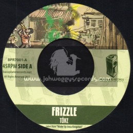 """Bassplate Rexcords-7""""-Frizzle / Toke + Kingston Dub / Herbie Faders And Michael Bass"""