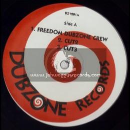 """DUBZONE RECORDS-12""""-FREEDOM DUBZONE CREW + STEPPING UP"""