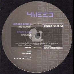 "4Weed Records-12""-We Are Rebels / Lion Warriah + We Are Rebels Remix / Madplate Sound"