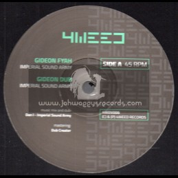 "4Weed Records-12""-Gideon Fyah / Imperial Sound Army + Hard Dreamy Dub / ELND"