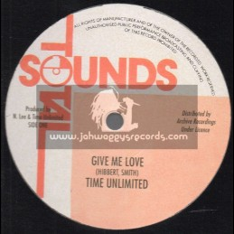 """Total Sounds-12""""-Give Me Love / Time Unlimited"""