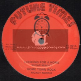 "Future Times-12""-Looking For A Home / Sugar Minnott + You Leave Me / The Producer"