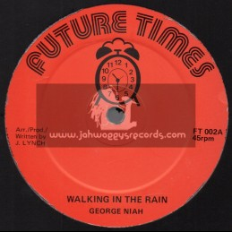 "Future Times-12""-Walking In The Rain / George Niah + Going To A Party / George Niah"