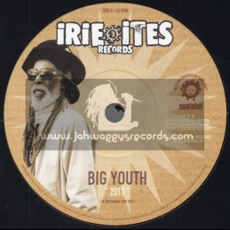 """Irie Ites Records-7""""-2011 / Big Youth + A Serious Dub / Jericho"""
