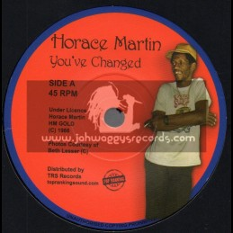 "HM Gold-Top Ranking Sound-7""-You've Changed / Horace Martin"