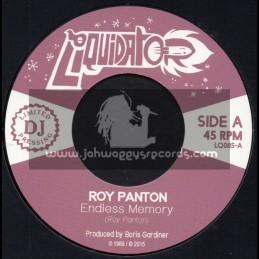 "Liquidator-7""-Endless Memory / Roy Panton + Tell Me / Roy Panton"