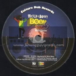 """Culture Dub Records-7""""-Boom Sound / Wicked and Bonny feat. Kali Green"""