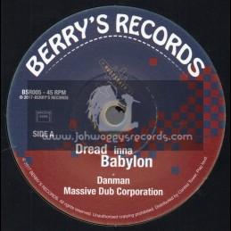 "Berrys Records-7""-Dread Inna Babylon / Massive Dub Corperation Feat. Danman"
