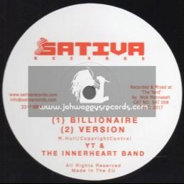 "Sativa Records-12""-Billionaire / YT & The Innerheart Band + Plant More  / YT & The Innerheart Band"