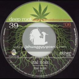"""DEEP ROOT 7""""-ABASSI ALL STARS-ITAL NOIZ + ITAL DUB"""