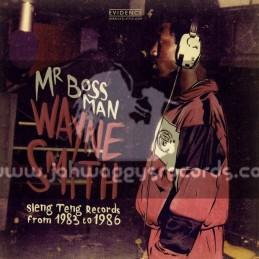 Evidance-Lp-Mr Boss Man / Wayne Smith - Sleng Teng Records From 1983 - 1986