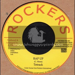 """Rockers-7""""-Rap Up / Tetrack + Three In One / Pablo Levi & Cleve"""