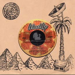 """Wheel Up-7""""-Politicians / The Pangeans Feat. Brother Culture"""