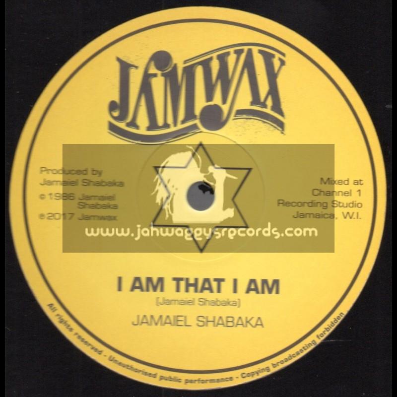 """Jamwax-12""""-I Am That I Am / Jamaiel Shabaka"""